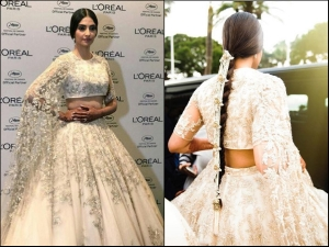 Sonam Kapoor Channels Her Desi Bride Vibe At Cannes