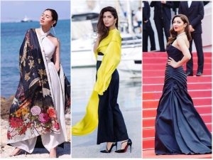 Pakistani Actress Mahira Khan Makes Her Stunning Debut At Cannes