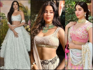 Janhvi Kapoor Looks Like Diva At Sonam Kapoor Anand Ahuja Wedding