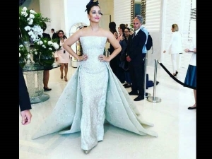 Cannes 2018 Aishwarya Icy Butterfly Gown Is Giving Us Giving Us Goosebumps