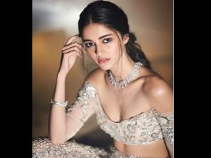 Ananya Panday Looks Ethereal Manish Malhotra Label