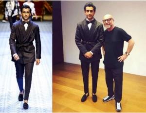 Jaipur Prince 19 Year Padmanabh Singh Ramp Walked Dolce Gabbana Milan
