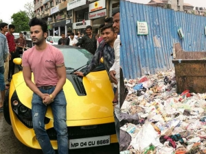 Bhopal Doctor Uses 70l Car Gifted Father Carry Garbage