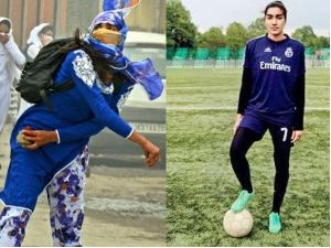 Afshan Ashiq From Stone Pelter Captain Jammu Kashmir Women Football Team