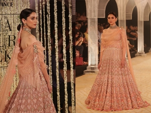 India Couture Week 2018 Aditi Rao Hydari Looks Like Modern Goddess