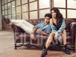 Janhvi Kapoor Ishaan Khattar Posed Filmfare Magazine Photoshoot