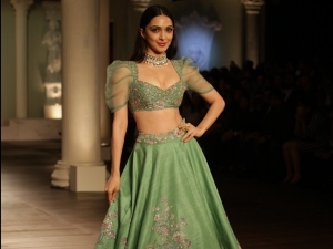 India Couture Week 2018 Kiara Advani S Lehenga Is Perfect For Monsoon Weddings