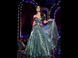 Kareena Kapoor On The Ramp At Lfw