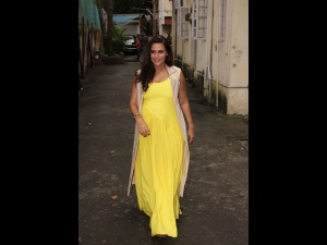 Neha Dhupia Killed Our Moody Blues With This Vibrant Yellow