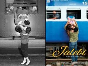 Jalebi Movie Poster Inspired Iconic Goodbye Kiss See Best Iconic Kissing Photos