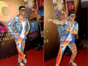 Ranveer Singh Is Firework In This New Colourful Suit