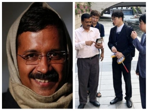 Delhi Cm Arvind Kejriwal New Look On Foreign Trip Seoul Is Going Viral