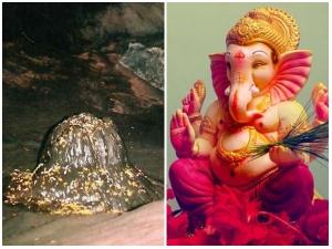 Human Head Lord Ganesha Still Inside Uttarakhand Patal Bhuvaneshewar Cave