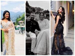 Priyanka Chopra Sonam Janhvi Kapoor Attend Isha Ambani Engagement Bash