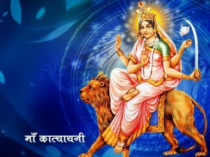 Navratri 2018 Goddess Katyayani Puja On Sixth Day