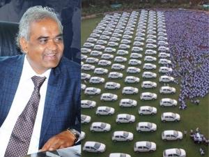 Surat Merchant Give Cars 600 Employees As Diwali Bonus