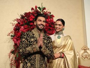 Deepika Padukone Ranveer Singh Outfits Bengaluru Reception