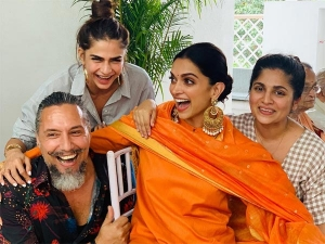 Deepika Padukone Starts Wedding Celebrations With Family Puja