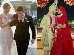 Priyanka Chopra Stuns Sabysachi Lehenga And Ralph Lauren Gown At Wedding Functions