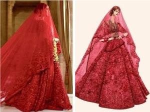 Sabyasachi Reveals Intricate Details About Priyanka Chopra Red Wedding Lehenga