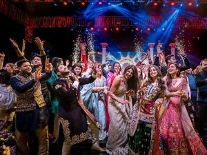 Priyanka Chopra Nick Jonas Stunned Abu Jani Sandeep Khosla Outfits Sangeet Ceremony