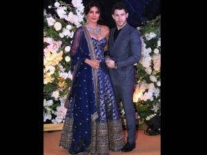 What Priyanka Chopra Nick Jonas Wore Wedding Reception Mumbai