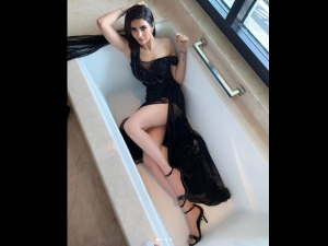 Karishma Tanna Poses Bathtub A Hot Photo Shoot See Pics