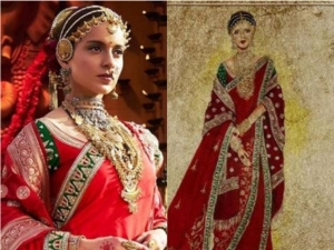 Fashion Designer Neeta Lulla Uploads Video Kangana Ranaut Starrer Manikarnika Costume Making