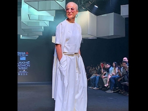 Tahira Kashyap Boldly Takes On The Ramp At Lakme Fashion Week