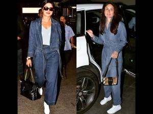 Priyanka Kareena Spotted Wearing Head To Toe Denim Who Wore Better