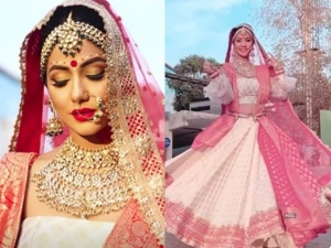 Hina Khan Aka Komolika Is Winning The Internet With Her Bengali Bridal Look