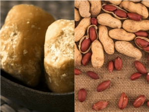 Benefits Eating Jaggery Peanuts Winter Season