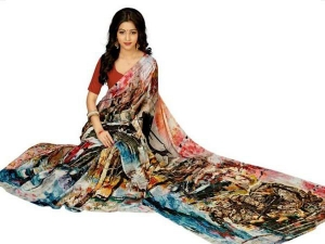 Balakot Air Strike Pm Modi Make It Saree Design Surat