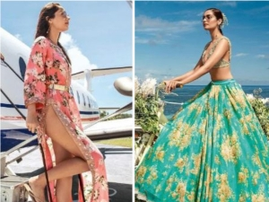 Manushi Chhillar Stunning Photoshoot In Sabyasachi Collection