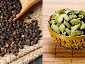 Cardamom Or Elaichi And Black Pepper Or Kali Mirchi Help Losing Weight