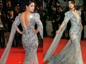 Hina Khan Makes An Impressive Red Carpet Debut At Cannes