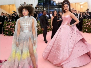 Priyanka Chopra And Deepika Padukone Looks At Met Gala Red Carpet Look 2019