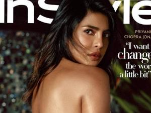 Priyanka Chopra Jonas Goes Blouse Less For A Shoot
