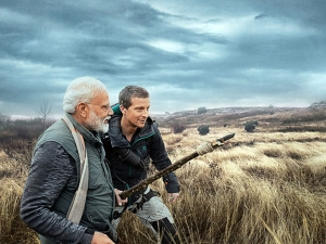 After These Celebrities Pm Modi To Be Feature In Man Vs Wild Bear Grylls