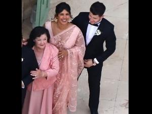 Sophie Turner And Joe Jonas Wedding Priyanka Chopra Wore Saree