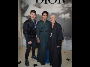 Priyanka Chopra And Nick Jonas In Paris Fashion Week