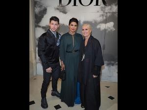 Priyanka Chopra And Nick Jonas In Paris Fashion Week