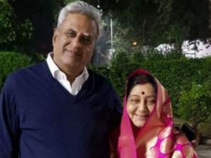 Sushma Swaraj And Husband Swaraj Kaushal Love Story