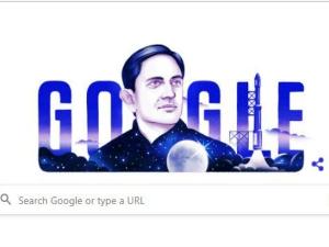 Google Doodle Honours Isro Founder Vikram Sarabhai S 100th Birthday