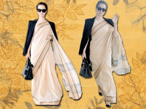 Kangana Pairs Rs 600 Saree With Givenchy Coat And Prada Handbag