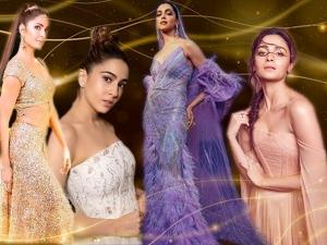 Sara Ali Khan Deepika Katrina Kaif Alia Bhatt Stun At Iifa 2019