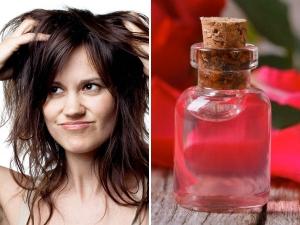 Wonderful Rose Water Benefits For Hair