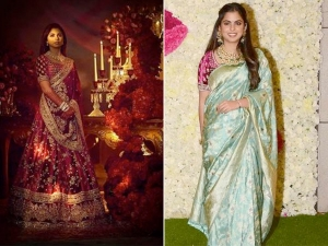 Isha Ambani Silk Saree Look Is Ideal For The Upcoming Wedding Season
