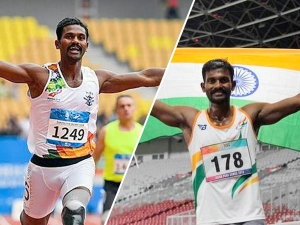 Anandan Gunasekaran Won Hattrick Gold In Military World Games