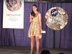 Nasa Scientists Gave Talk In Sequined Dress To Inspire Litt